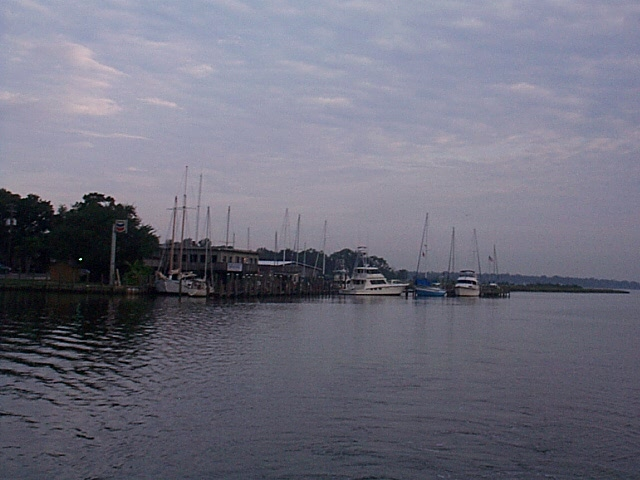 Grand Mariner marina, Dog River, Alabama