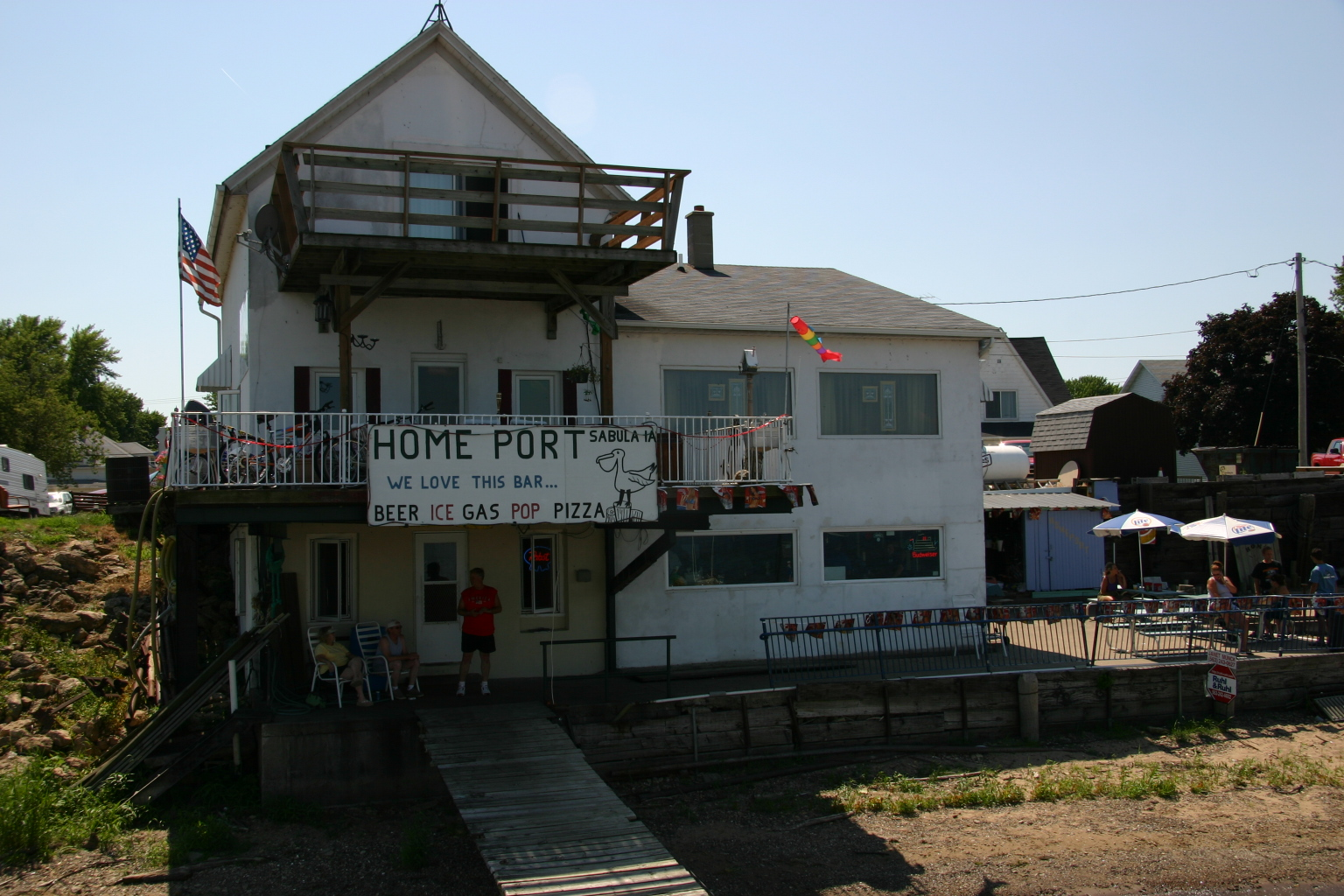 Home Port, Sabula, Iowa