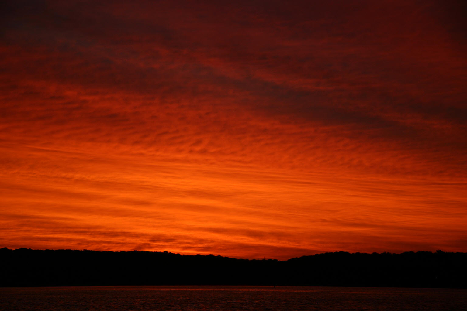 """It's another te-Keokuk sunrise . . ."""