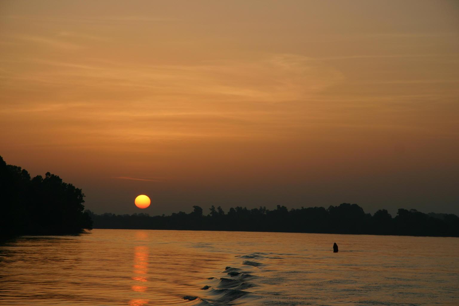 Sunrise over Pine Bluff, AR